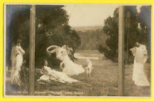 """CPA RARE France SALON 1903 """"MUSIQUE . DANSE . POESIE"""" Nymphes d' Albert THOMAS"""