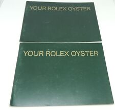 Original, Rolex Oyster Watch, Sales Catalogues