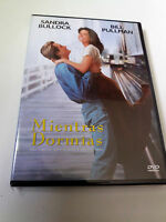 "DVD ""MIENTRAS DORMIAS"" SANDRA BULLOCK BILL PULLMAN JON TURTELTAUB"