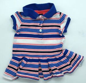 Original Baby Polo Dress By Tommy Hilfiger Size 3-6M 56 62