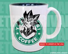 Yami Yugi Yugioh Starbucks Anime Manga Japanese Insipred Cartoon Geek Nerd Mug