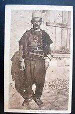 ALBANIA 1930s Albanian man COSTUME ALBANESE