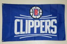 LA Clippers Banner 3x5 Ft Flag Man Cave Decor NBA Los Angeles Basketball Sports