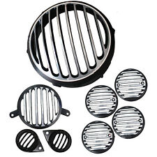 ROYAL ENFIELD HEAD, BLINKER- INDICATOR, TAIL, PARKING LIGHT PROTECTIVE GRILL SET