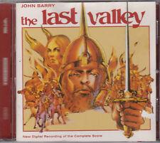 The Last Valley - John Barry - New Recording (CD, Silva Screen, 2001)