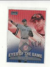2000 Stadium Club Chrome Eyes of the Game #EG6 Derek Jeter Yankees