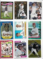 California Angels All-Time Greatest Vintage Lot (55) Different w/ Rookies Ryan