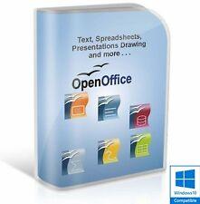 Open Office 2017 Pro Edition word processor Microsoft Windows (Digital Download