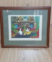 Signed Artist Penny Cox Stow 'I told you George' 2000 Original Limited Print