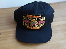 1991 Pirates National League Eastern division back to ba Champions Snap Back Hat