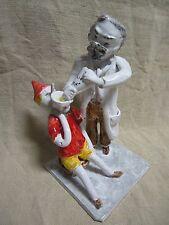 PINOCCHIO in ceramica fatto a mano DA COLLEZIONE
