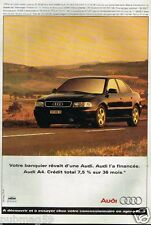 Publicité advertising 1996 Audi A4
