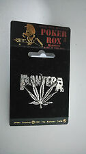 Pantera logo SUPER RARE Poker Rox Alchemy Carta Vintage metal music pin pin's