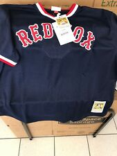 Boston Red Sox Mitchell And Ness Authentic Batting Jersey Nwt