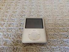 Used Apple iPod Nano 3rd Generation Silver (4 Gb) A1236 Pa978Ll/A