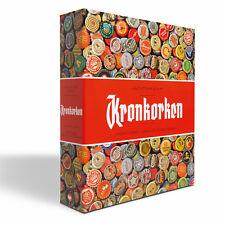 Album pour capsules de bière- GRANDE, avec 5 Feuilles COMPART réf 342619