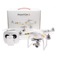 DJI Phantom 3 Professional Quadcopter With 4k Camera, 4 Batteries, & Case