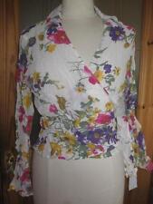 Women's Floral Waist Length Petite Tops & Shirts