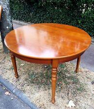 ANCIENNE,TABLE de salle à manger CHENE MASSIF+4 chaises