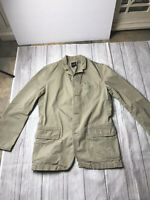 Gap Tan Khaki Casual Sport Coat Blazer 3 Button size Medium EUC