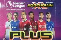 PANINI PREMIER LEAGUE ADRENALYN XL PLUS 2020/21 CHOOSE YOUR CARD FROM LIST