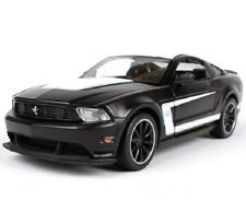 Maisto 1:24 Ford Mustang Boss 302 Diecast Model Racing Car Toy Black NEW IN BOX