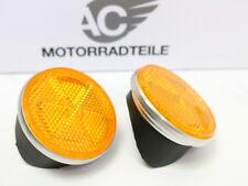 Honda CB 350 K4 Reflektor Seitenstrahler Unterlagen Lampenhalter Repro