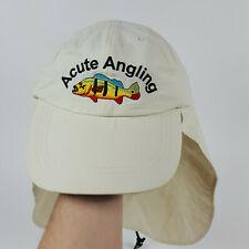 NEW Acute Angling Fishing Rayosan UV Protection Neck Flap DuPont Teflon Cap Hat