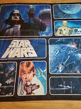 "Star Wars Classic Saga 72"" x 72"" Fabric Shower Curtain & Hooks Luke Darth Vader"