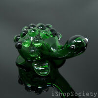 Collectible Turtle TOBACCO Glass Hand Smoking Pipe
