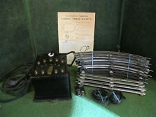 Lionel PreWAR Type T Transformer  + TRACK AND INSTRUCTIONS+ WIRE+TRACK CLIP