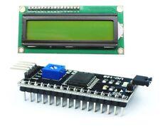 Ecran LCD VERT JAUNE afficheur module 1602 16x02 I2C HD44780