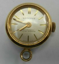 Swiss Made Lucerne Mechanical Wind Pendant Watch - Over-wound Not Working