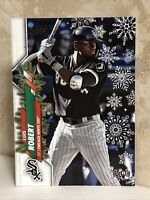 2020 Topps Holiday #HW2 Luis Robert RC Christmas Snow Flake Parallel RARE ROOKIE