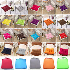 Pop 40x40cm Seat Cushions Outdoor Indoor Square Soft Tie On Chair Pad Home Decor