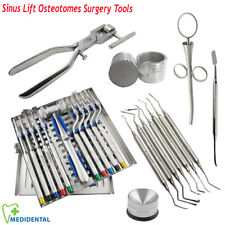 Sinus Lift instruments Dental Implant Osteotomes, Bone Crusher, Morselizer Kit