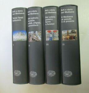 ARTI E STORIA NEL MEDIOEVO - Einaudi 2002 - 2004 - 4 volumi
