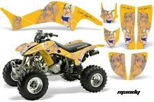 Honda TRX 400 EX AMR Racing Graphic Kit Wrap Quad Decal ATV 1999-2007 MANDY BLUE