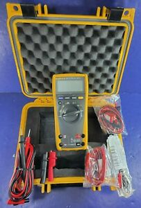 Fluke 179 TRMS Multimeter, Hard Case, Screen Protector, Excellent, More