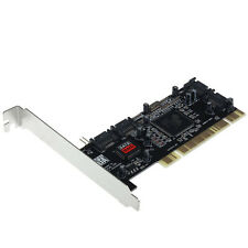 4 SATA Hard Disk Drives to PC,Serial-ATA,PCI controller card,softwareRAID Tide