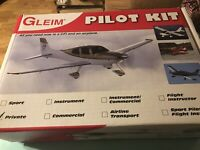 New In Box Gleim Private Pilot Kit 2013 Edition See Pictures Never Used
