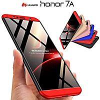 COVER per Huawei Honor 7A CUSTODIA Fronte Retro 360° ORIGINALE ARMOR CASE Slim