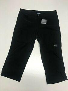 EDDIE BAUER First Ascent Black Trousers  UK 10  US 6  EUR 38     (rst134-7)