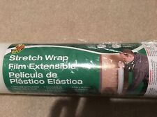 Duck Brand Stretch Wrap With Handle, 20 Inch x 1000 Feet, Clear, Single Roll