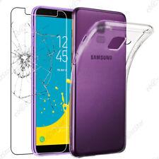ebestStar Coque Transparente Samsung Galaxy J3 2017 J6 2018 J7 J5 + VERRE Trempé