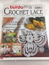57 Lace Projects To Crochet, Special Release Burda Lace Magazine - Volume 3