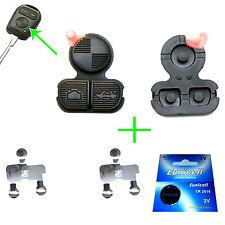 für 2x BMW Schlüssel Tastenfeld Gummi + 2x Kontaktfolie Membran + Batterie