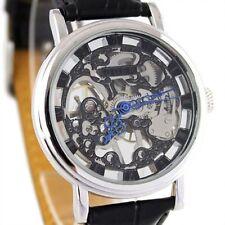 Mechanical (Hand-winding) Polished Unisex Wristwatches