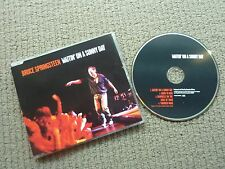 BRUCE SPRINGSTEEN WAITIN ON A SUNNY DAY ULTRA RARE AUSTRALIAN CD SINGLE!