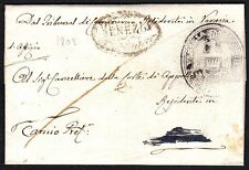 PREFILATELICA LOMBARDO VENETO 1808 da Venezia per ????